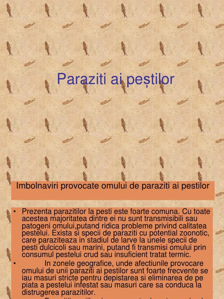 paraziti ai omului)