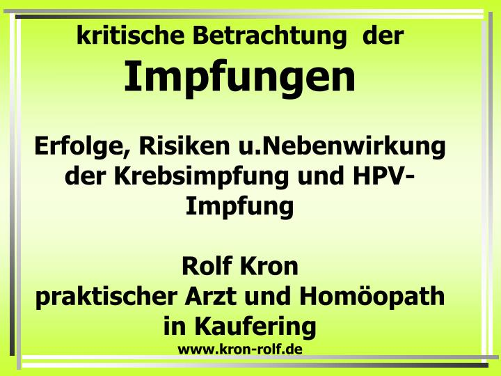 hpv impfung powerpoint)