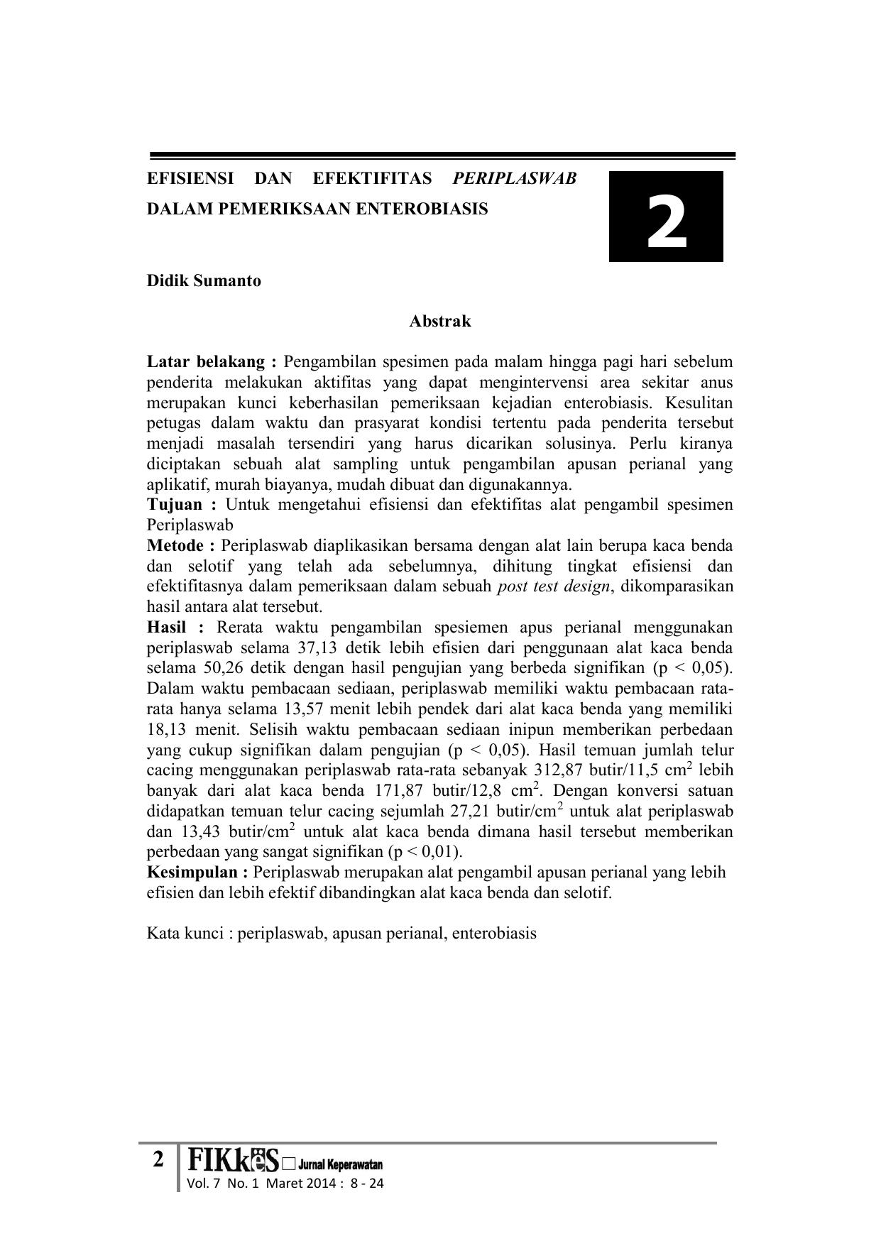 enterobiasis jurnal)