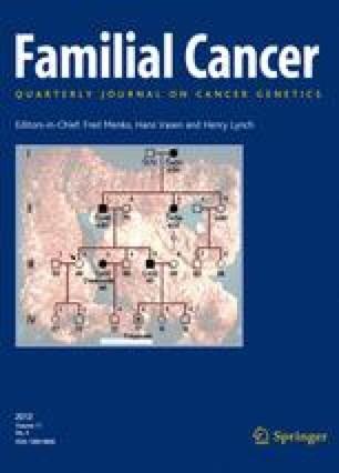 familial cancer center)