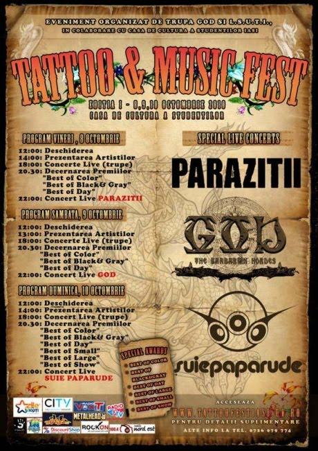 2 Noiembrie / Concert Parazitii / Iasi / Club Fratelli
