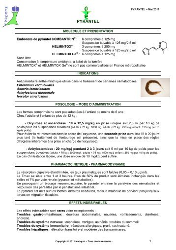 helmintox indication)