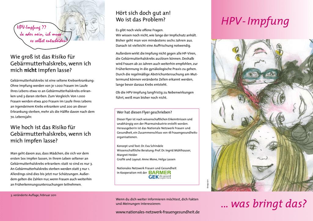 hpv impfung danach papillomavirus life cycle organization and biomarker selection