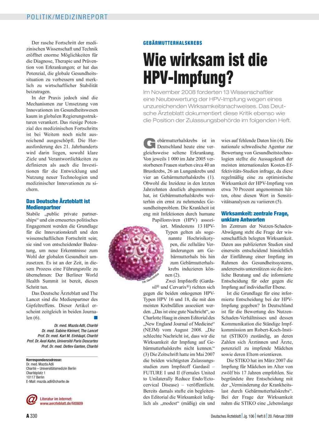 hpv impfung dosierung