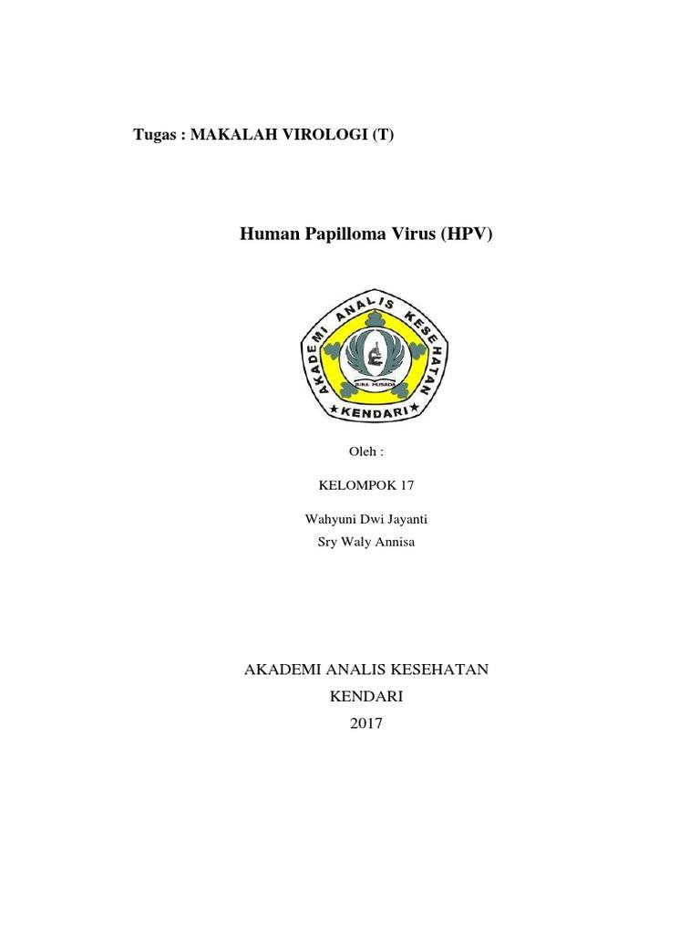 makalah human papillomavirus (hpv))