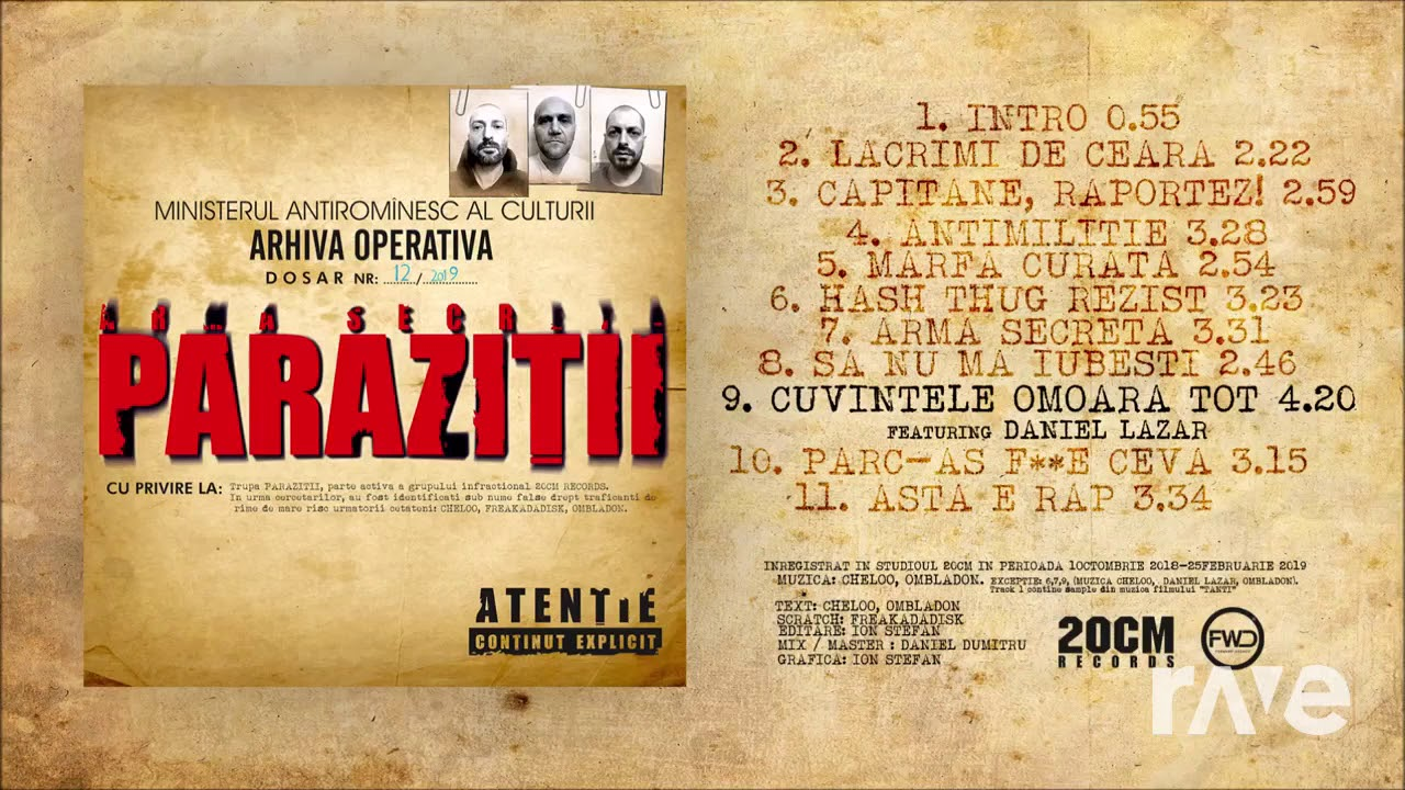 parazitii website
