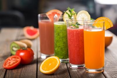 sucuri de legume si fructe pentru detoxifiere