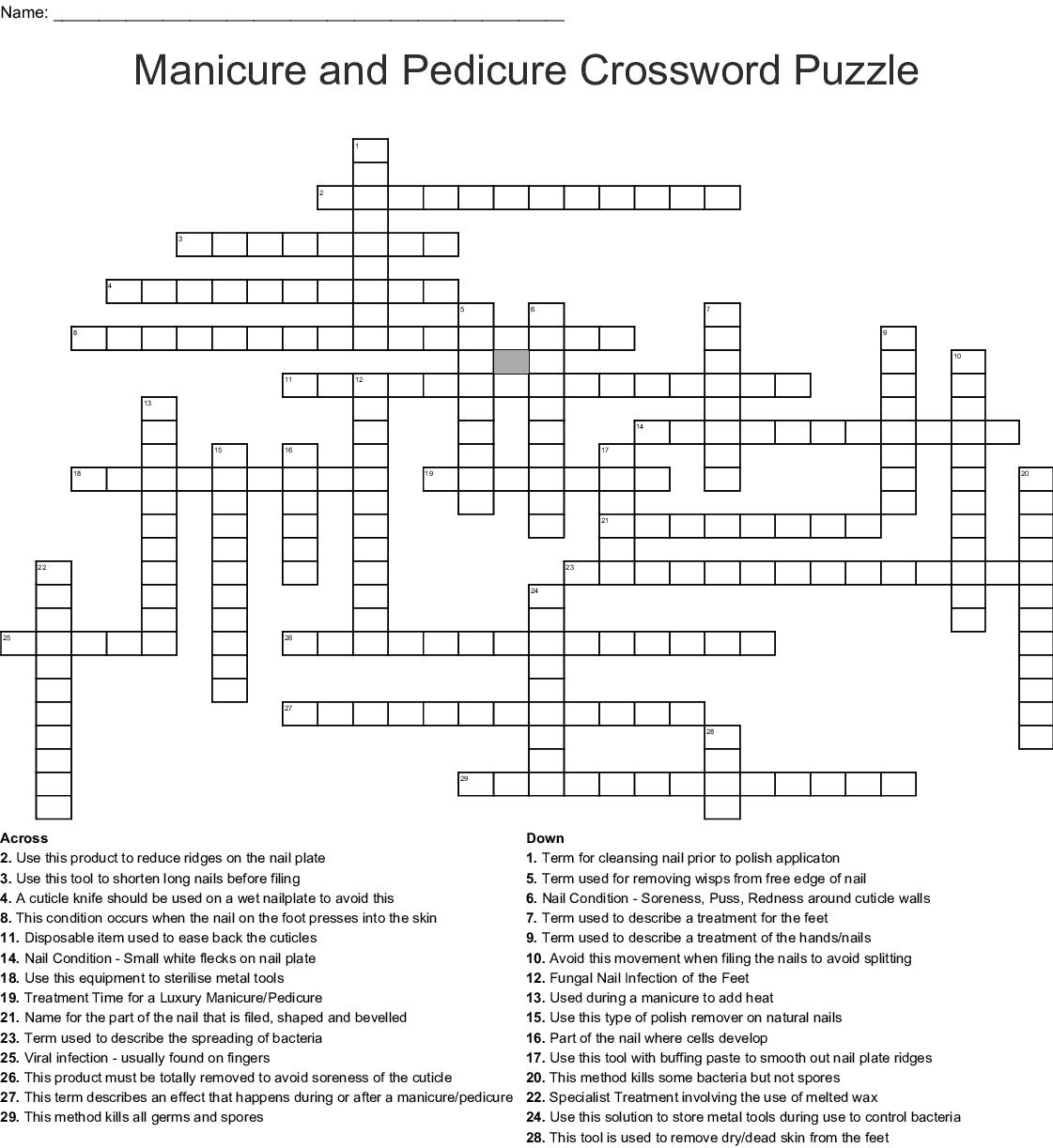 wart on the foot crossword clue