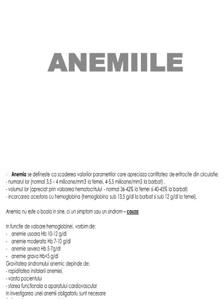 anemie 7g)