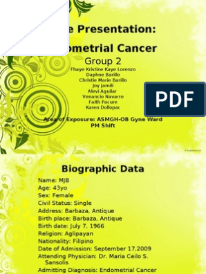 endometrial cancer powerpoint presentation)