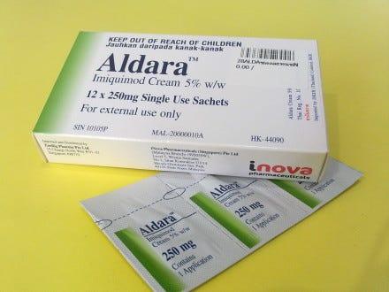 hpv prescription cream)