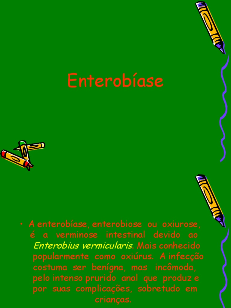 enterobius vermicularis profilaxia