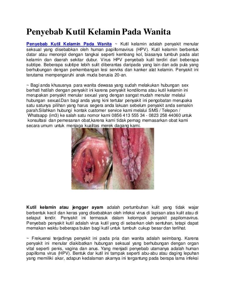 Papilloma vírus kutil, A HPV (humán papillomavírus) fertőzés tünetei, kezelése