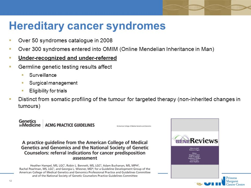 familial cancer syndrome ppt