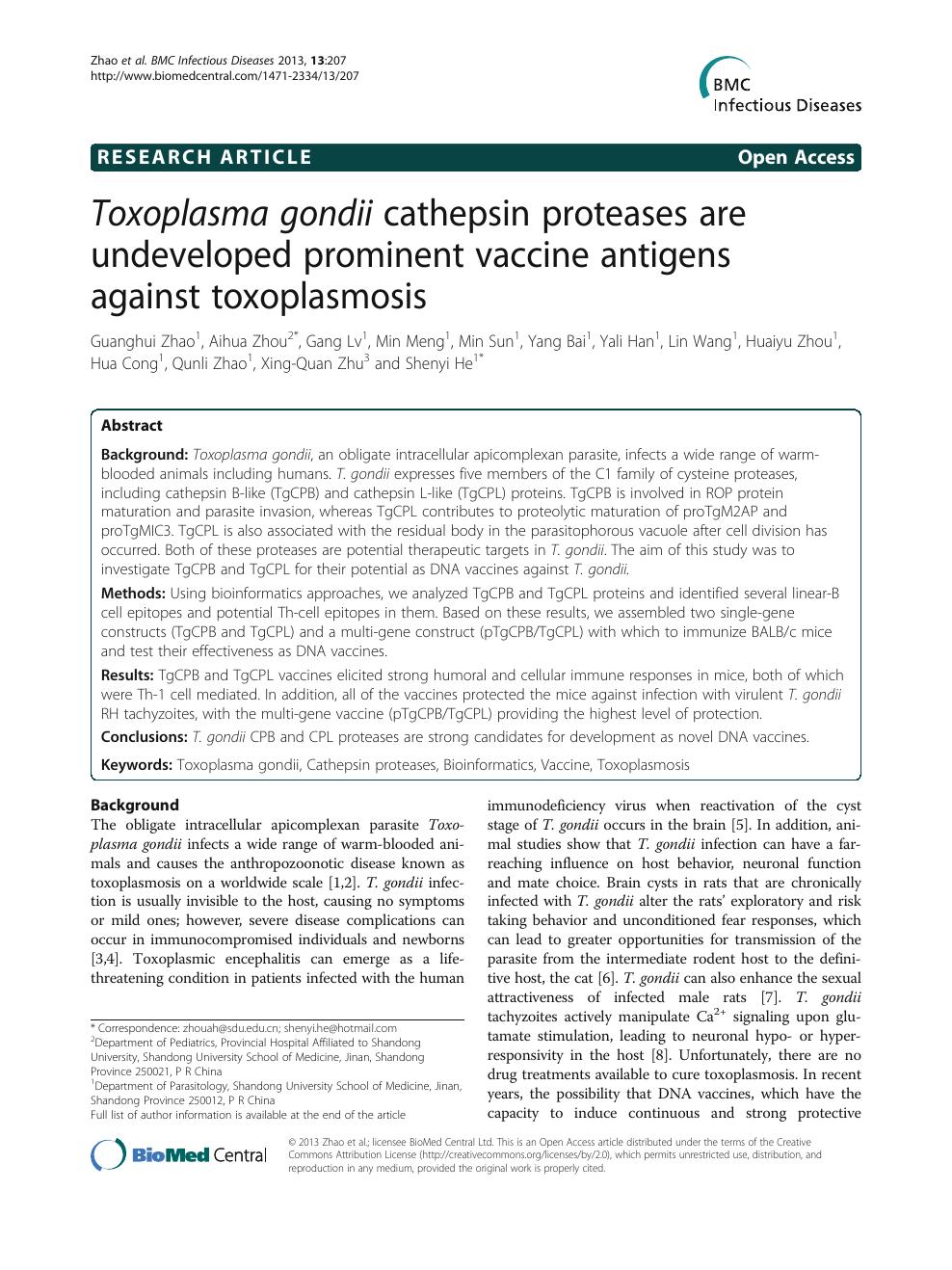 Toxoplasmoza - simptome si tratament