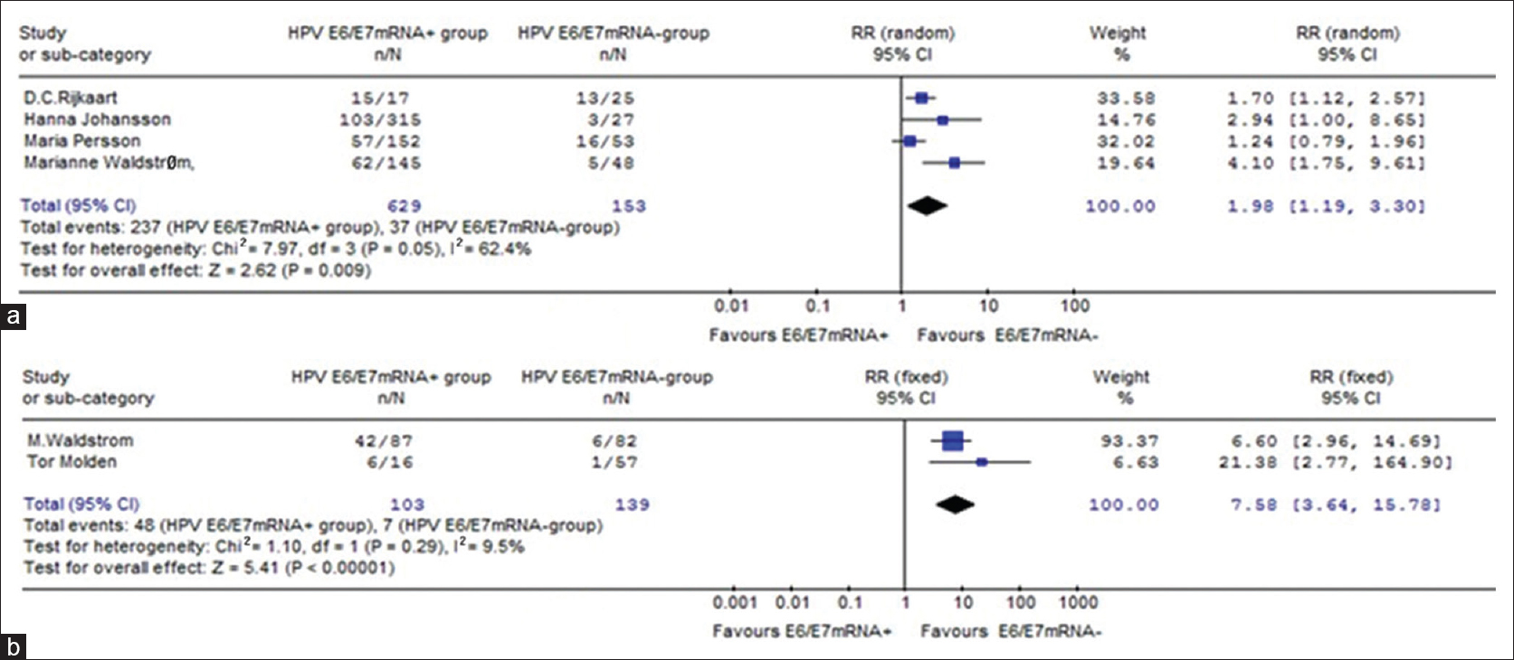 RRML - α-HPV positivity analysis in a group of patients with melanoma and non-melanoma skin cancers