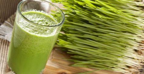 detoxifiere cu iarba de grau