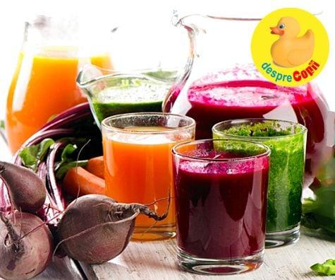 Detoxifiere de 3 zile cu sucuri naturale: beneficii şi contraindicaţii