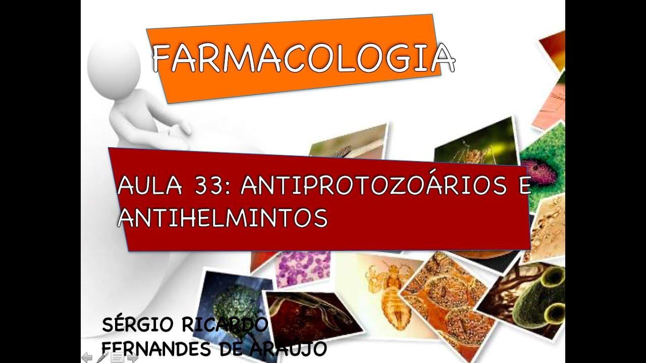 antihelminticos farmacologia)