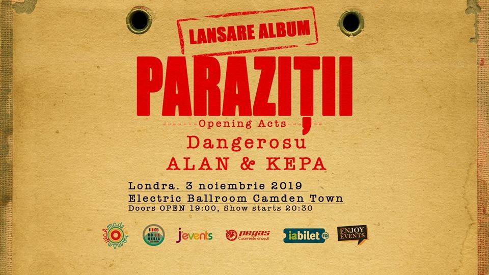 parazitii lansare album)
