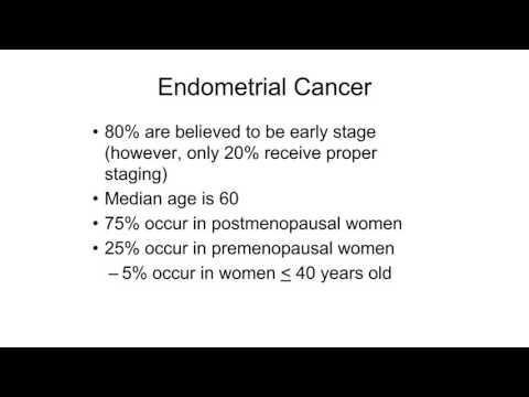 endometrial cancer rcog guidelines)
