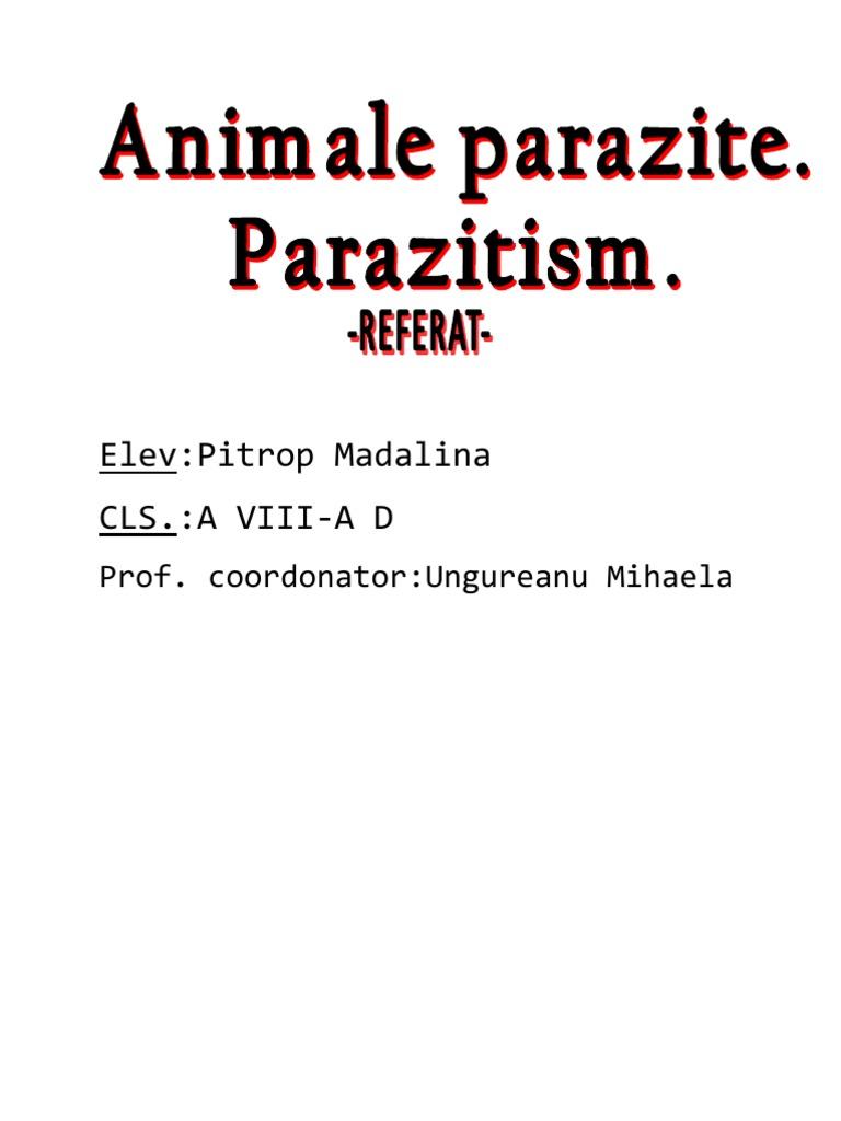 paraziti rari
