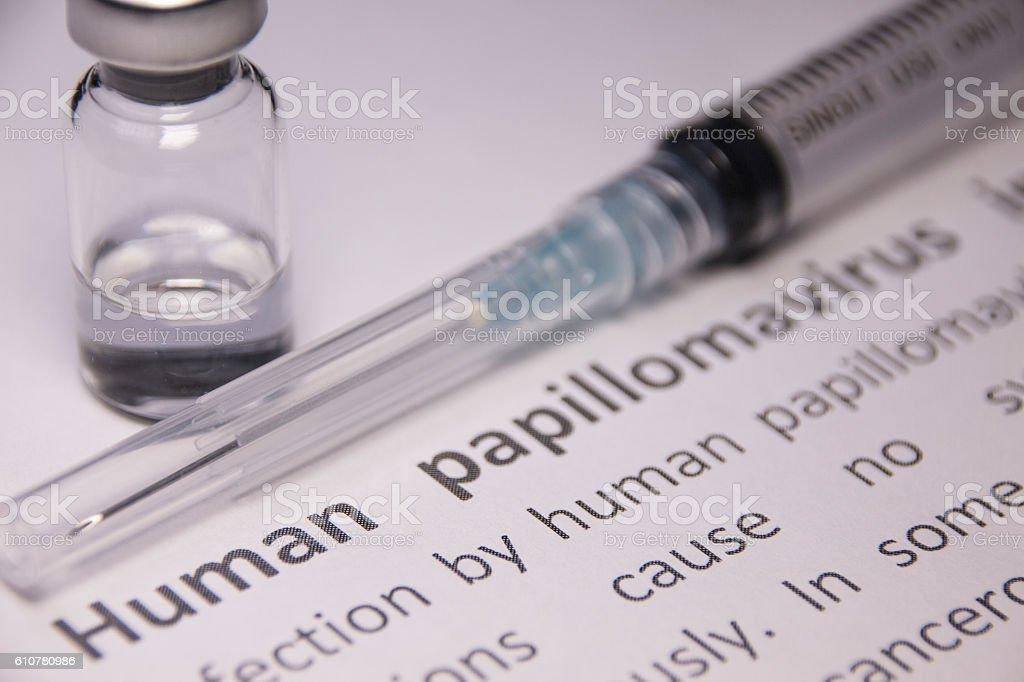human papilloma virus vaccine)