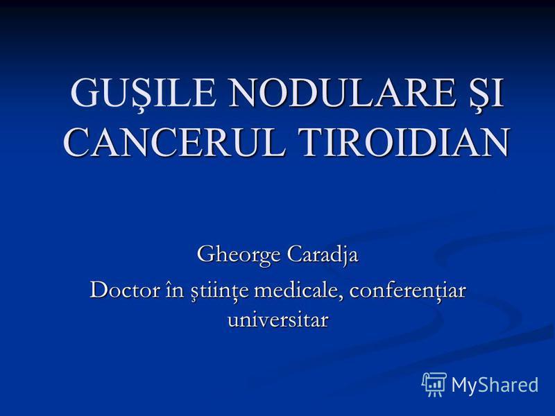 unde metastazeaza cancerul de tiroida