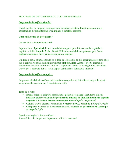 Detoxifierea ficatului și a vezicii biliare