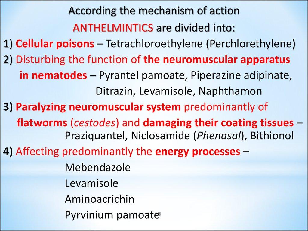 anthelmintic drugs classification ppt 9-valent human papillomavirus (hpv) vaccine