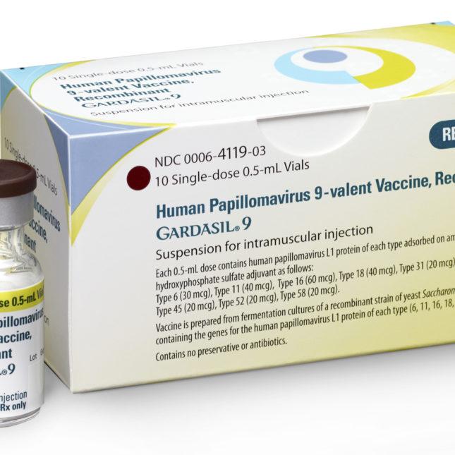 human papillomavirus vaccine use)