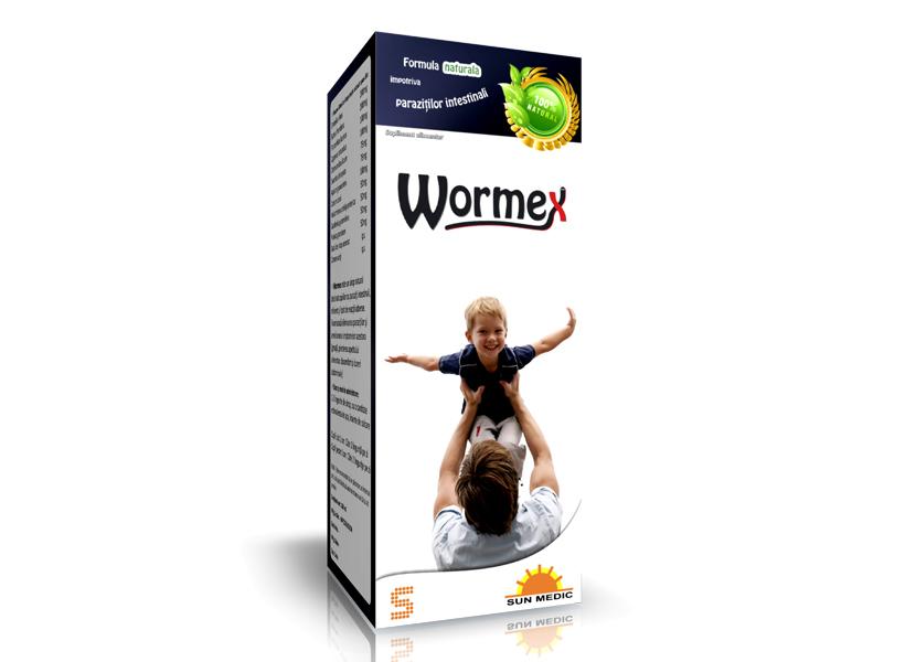 Wormex sirop impotriva parazitilor intestinali ml