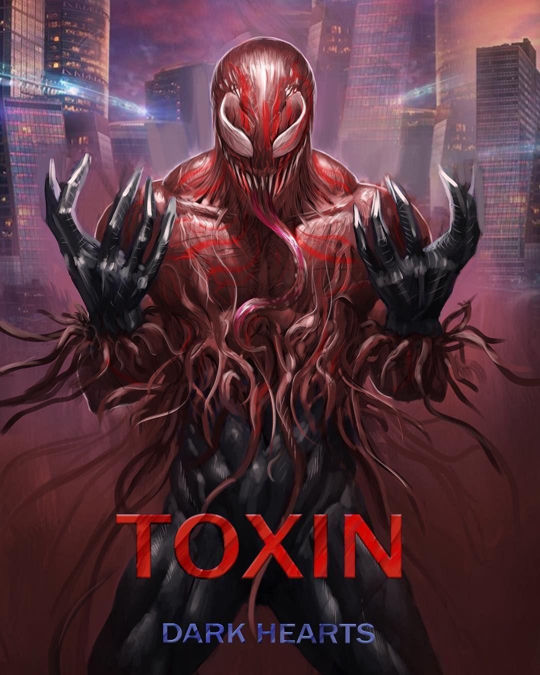 Todos los simbiontes | Toxin marvel, Marvel venom, Marvel art