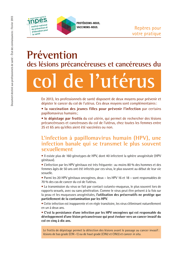 vaccin papillomavirus combien dinjections