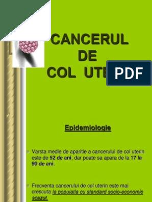 cancerul de col uterin engleza