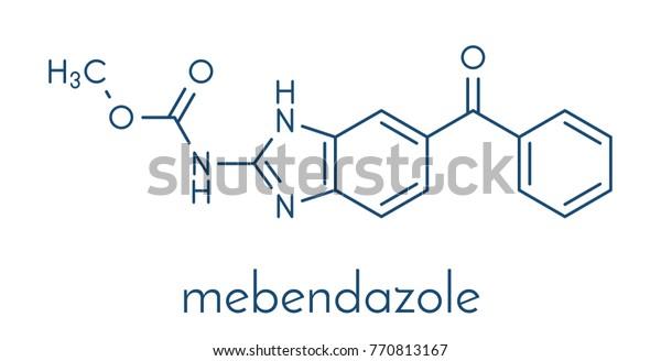 anthelmintic drug mebendazole