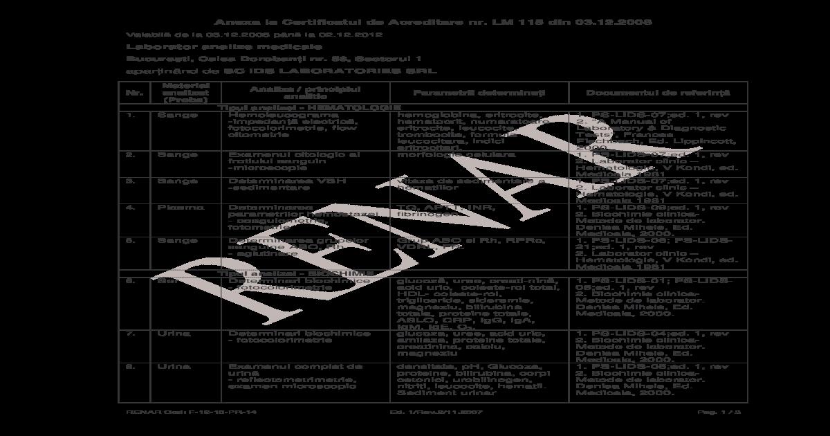 Examen coproparazitologic - Detalii analiza | Bioclinica