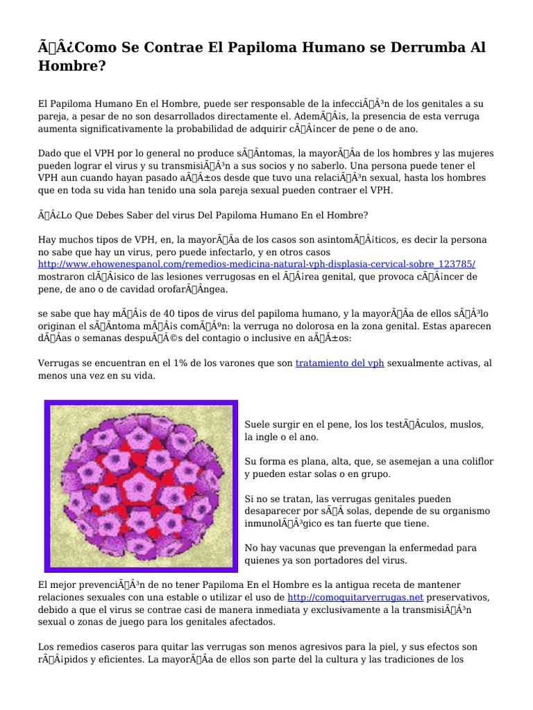 virus del papiloma virus)