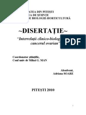 cancer gastric cu metastaze peritoneale)