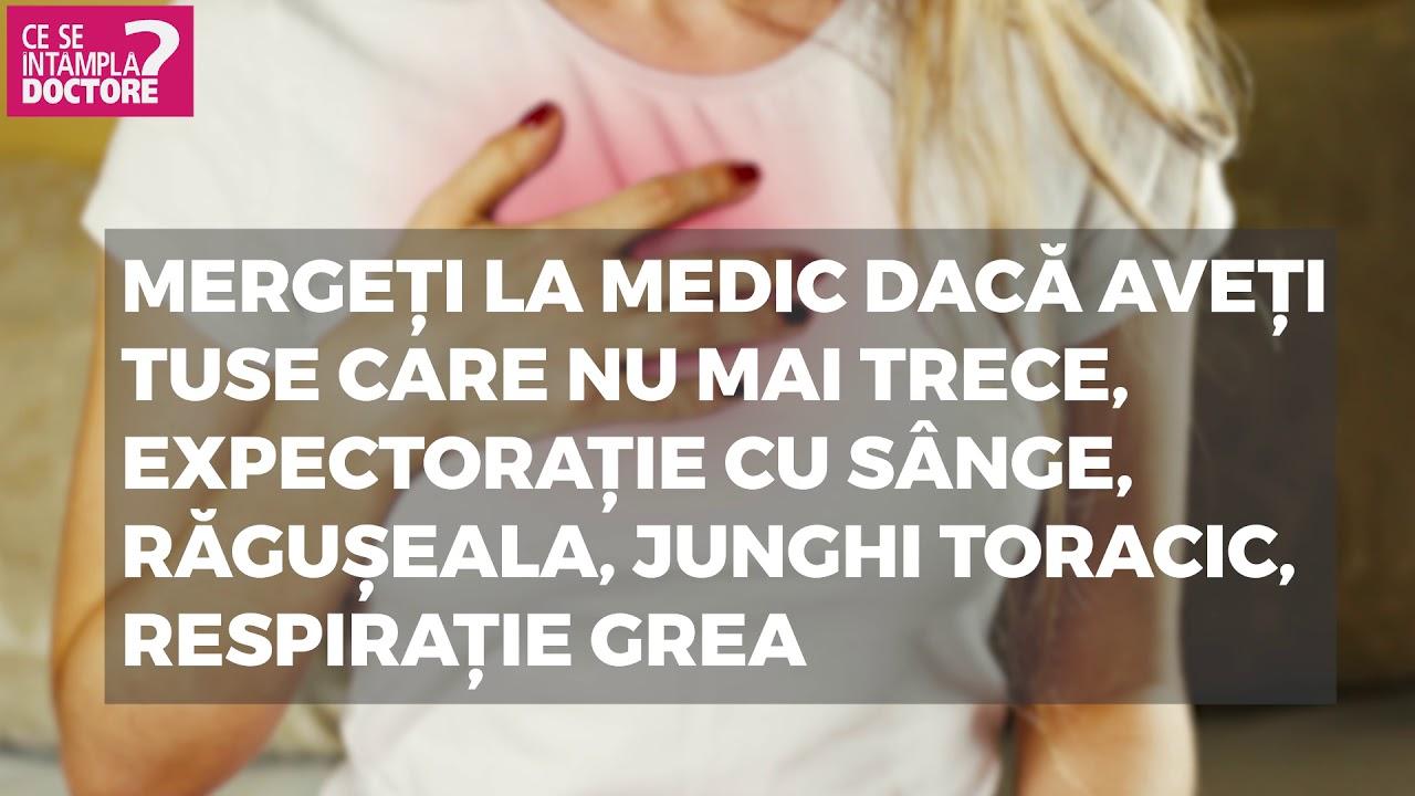 cancer pulmonar tuse cu sange)