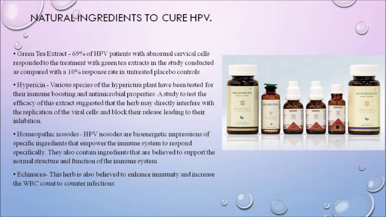 hpv treatment over the counter
