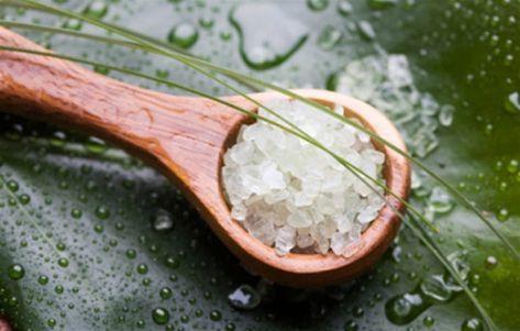 apa cu sare pentru detoxifiere