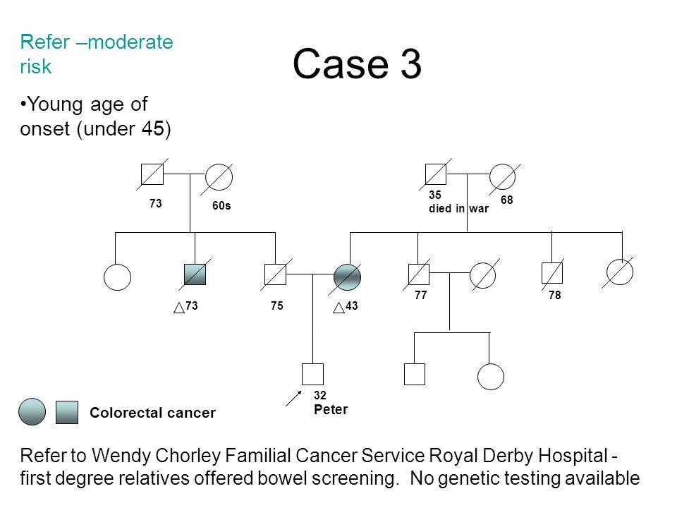 familial cancer service)