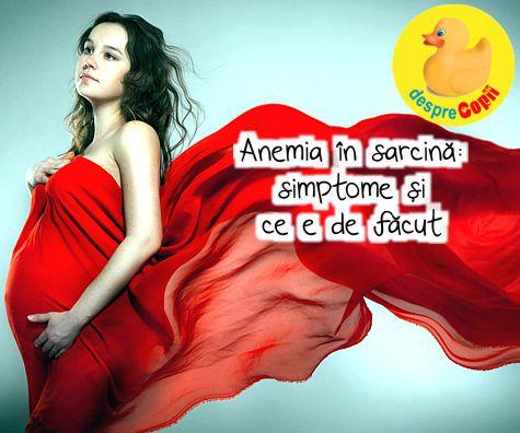 Anemia la gravide: cauze, simptome, tratament