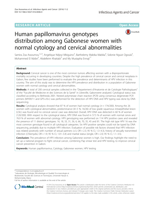 papillomavirus et mst)
