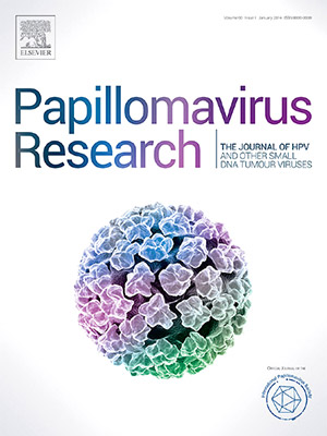papillomavirus research journal impact factor